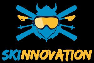 """Skinnovation ist ein Startup Event in Innsbrick, Österreich. Das Logo gehört für uns zur Kategorie """"Die besten Startup Logos 2018"""""""